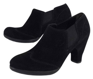 Paul Green Black Suede Bootie Boots