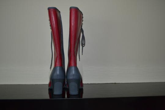 Dr. Scholl's RED/Gray Boots