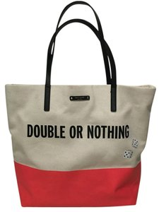 Kate Spade Call To Action Rare Tote in Red