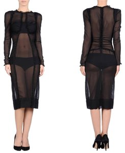 Dolce&Gabbana Hott!!!! Sexy Sheer Runway New Neverworn Soldout Dress