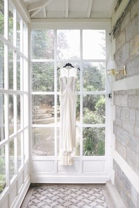 BHLDN Bisque Cream Lace Silk Chiffon Vintage Wedding Dress Size 0 (XS)