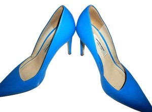 Saks Fifth Avenue Blue Cobalt Pumps