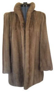 Mink Vintage Mid-length Fur Coat