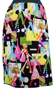 Andrea Viccaro Girls Skirt Multicolor