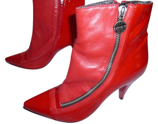 Item - Red Boots/Booties Size US 7.5