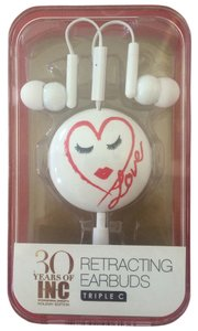 INC International Concepts INC International Concepts Retracting Earbuds - New