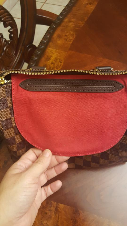 71d2aa7c3 Louis Vuitton Speedy 25 Bandouliere Made In France Brown (Damier ...