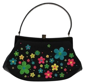 Moschino Small Leather Tote in Black