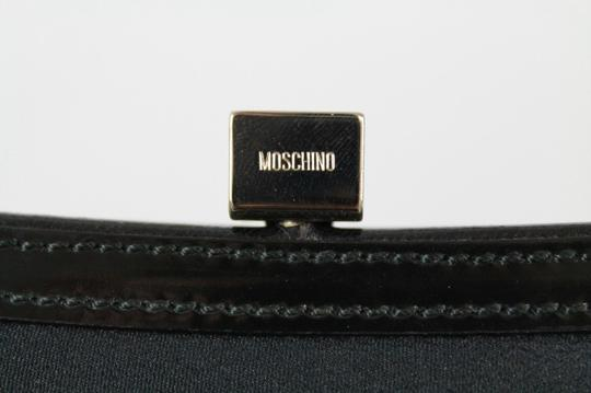 Moschino Small Tote Leather Floral Shoulder Bag