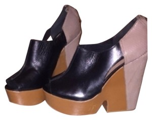 Steven by Steve Madden Black/tan/taupe Platforms