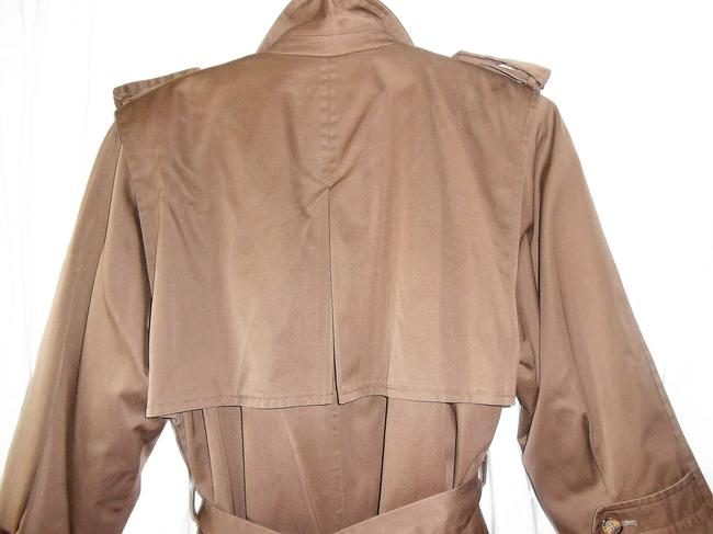 Evan Picone Double Breasted Trench Coat