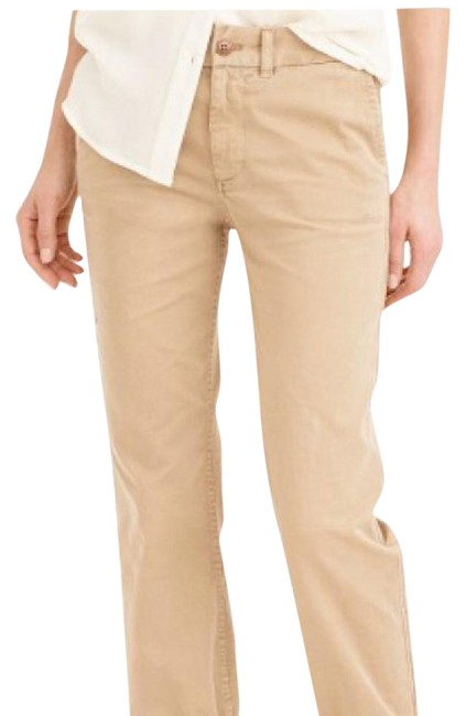 Item - Khaki Twill Chino Pants Size Petite 6 (S)