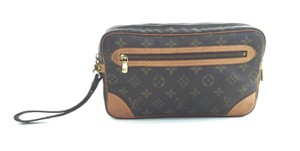 Louis Vuitton Orsay Dragonne Trousse Monogram Clutch
