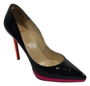 Christian Louboutin Black/Rose Pumps