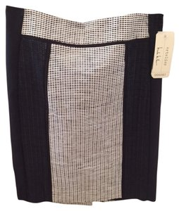 Nicole Miller Skirt Black/white