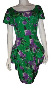 Patricia Field 55% Silk 45% Cotton Lining Dress