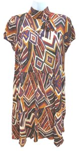Trafaluc short dress Printed Shift on Tradesy