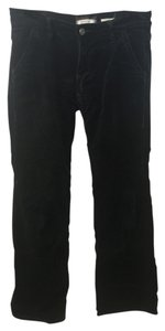 Old Navy Straight Pants Black