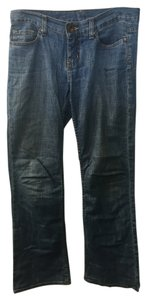 Express Straight Leg Jeans-Light Wash