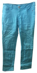Mossimo Supply Co. Capri/Cropped Denim-Light Wash