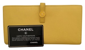 Chanel Final Reduction. Continental Button Flap Wallet EUC