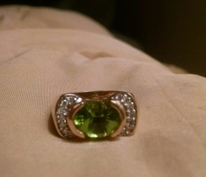 Other Gold Peridot Ring