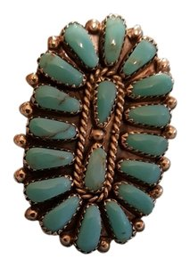 Navajo Native American Turquoise Ring
