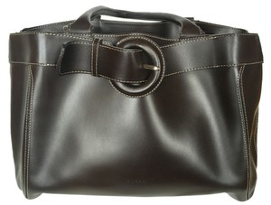 Furla Tote in Chocolate Brown