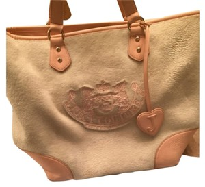 Juicy Couture Pink/cream Travel Bag