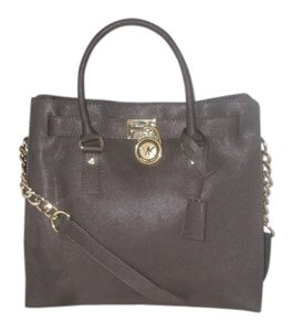 Michael Kors Next Day Shipping Tote in Dark Brown