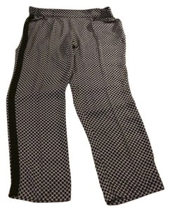 Worthington Straight Pants black/white