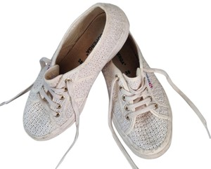 Superga Crochet Sneaker Ivory Athletic