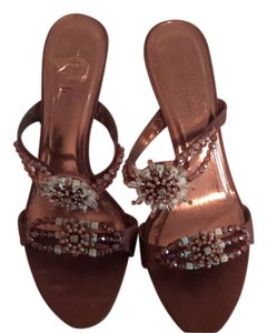 Valerie Stevens Brown Sandals