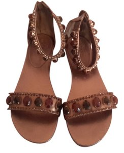 Vince Camutto Gold Sandals