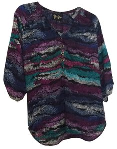 Yumi Kim Top Black/multi colored