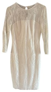 Cache Lace Longsleeve Fitted Dress