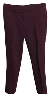 Ann Taylor LOFT Straight Pants Cranberry