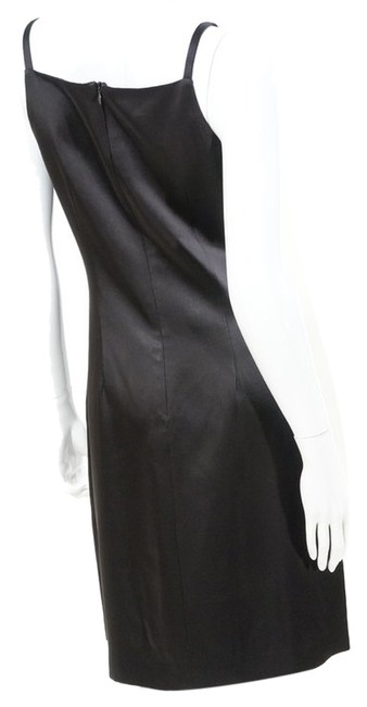 Preload https://item1.tradesy.com/images/lynn-lugo-black-satin-sheen-sheath-cocktail-above-knee-night-out-dress-size-4-s-1254410-0-0.jpg?width=400&height=650