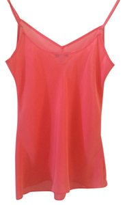 J.Crew Cami Adjustable Straps Top Coral