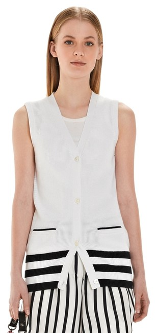 Preload https://item2.tradesy.com/images/white-navy-and-red-stripe-1818-thermal-stitch-vest-bb36-item-ay00073-cardigan-size-6-s-1254441-0-0.jpg?width=400&height=650