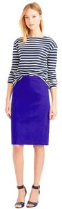 J.Crew Pencil No. 2 Pencil Skirt Purple