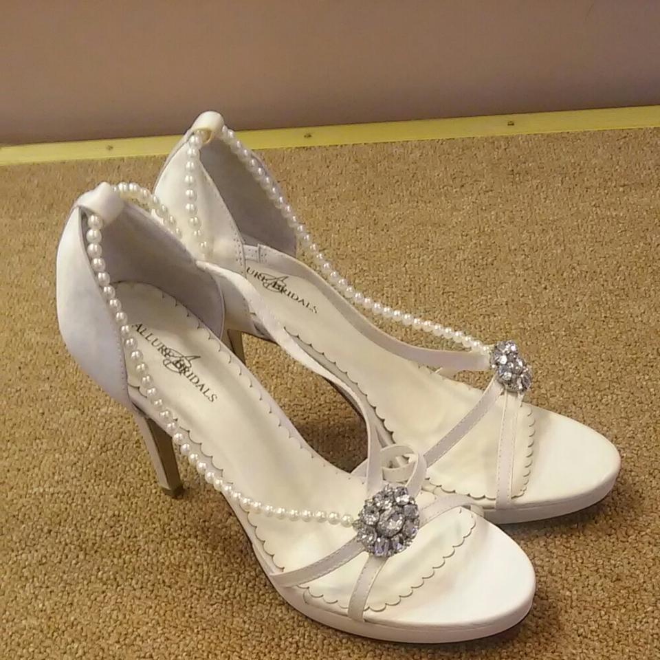 Allure Bridals The Dazzle Wedding Shoes On Sale, 44% Off