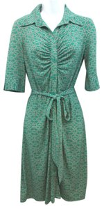 Laundry by Shelli Segal short dress GREEN Stretchy on Tradesy
