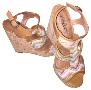 Lucky Brand Tan/multicolor Sandals