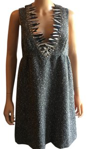 Anna Sui for Target Metallic Hardware Hand Wash Cold Night Out Date Night Dress