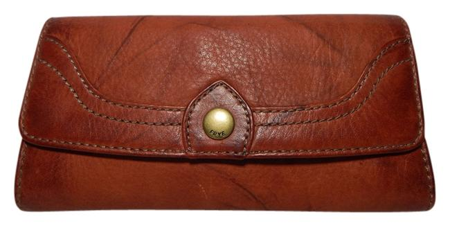 Item - Burnt Red Campus Large New Wallet