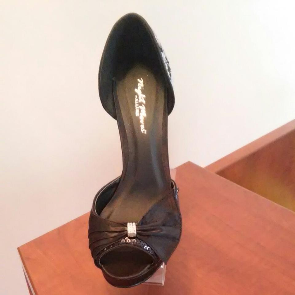 Pumps Allure Silver By Sparkle Black Starlight Evenings ax1qwYY
