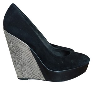 Steven by Steve Madden Black Platforms