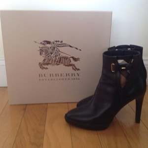 Burberry Stiletto Lysterfield Black Boots