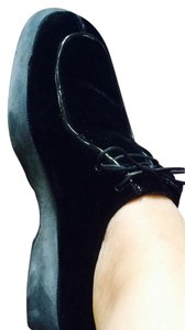 Anne Klein Black Platforms